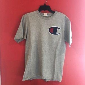 Champion Stitched Grey T-Shirt